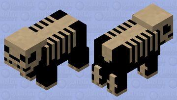 A skeleTON of bones Minecraft Mob Skin