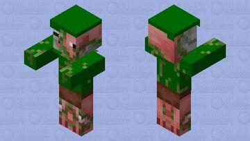 Militär Zombie Pigman Minecraft Mob Skin