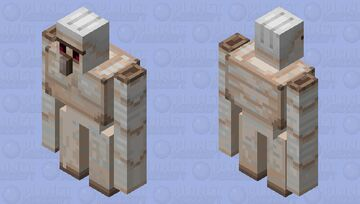 Vineless Iron Golem Minecraft Mob Skin