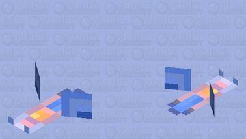 Sea Butterfly Minecraft Mob Skin