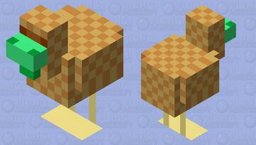 Totem of Undying Chicken (Totem of Undying Palette Contest!) Minecraft Mob Skin