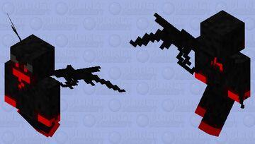Corrupted charging vex Minecraft Mob Skin