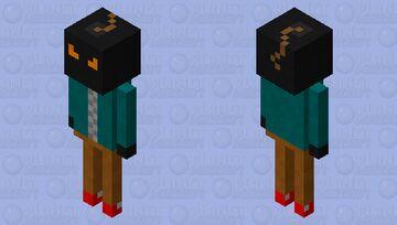 whitty (Friday Night Funkin') Minecraft Mob Skin