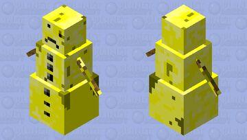 Pee Golem Minecraft Mob Skin