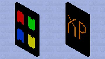 Windows XP Cape Minecraft Mob Skin