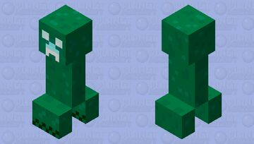 Charged Creeper (Dungeons) Minecraft Mob Skin