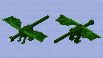Dream Ender Dragon Minecraft Mob Skin