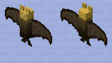 Golden Fliying Pig Minecraft Mob Skin