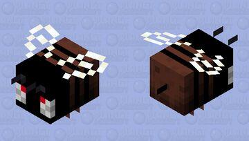 Black Bee Minecraft Mob Skin