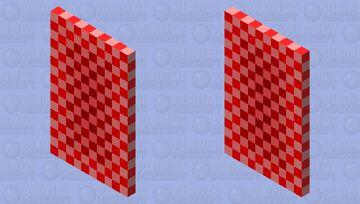 confusing cape Minecraft Mob Skin