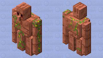 Copper Golem Minecraft Mob Skin