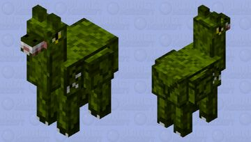 Jurassic Alpaca Minecraft Mob Skin