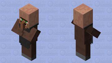 Villager #4 (from villager news) Minecraft Mob Skin