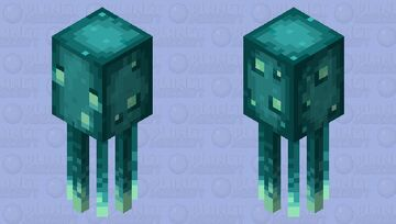 PA+ Glow Squid Minecraft Mob Skin