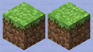 Grass Block with a Temperamental Mole-Bot Inside -- (Biome Swap Contest) Minecraft Mob Skin
