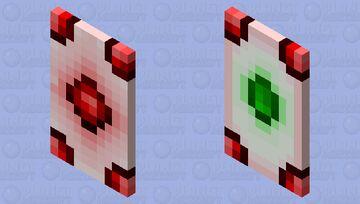 PickAUsername's gem cape Minecraft Mob Skin
