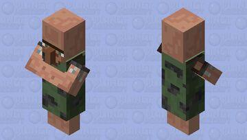 Caveman Villager Minecraft Mob Skin
