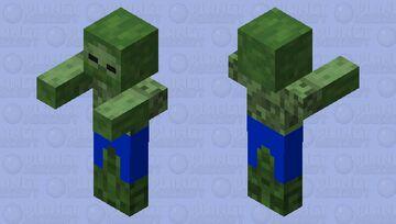 Swim suit zombie Minecraft Mob Skin