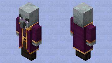 Mage Illager(Minecraft Dungeon Version) Minecraft Mob Skin
