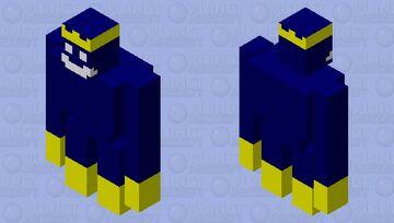 King Bob-omb Minecraft Mob Skin