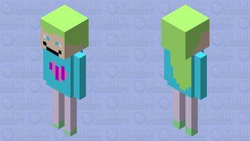 selltin girl 2.0 Minecraft Mob Skin