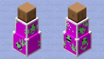 Bottle O' Parasites (Halloween🎃) Minecraft Mob Skin