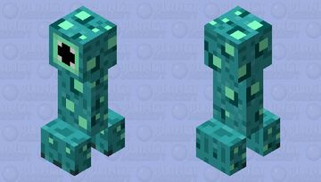 Glow Stalker (Mobs that Glow Contest) Minecraft Mob Skin