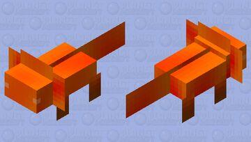 Sunrise Axolotl Minecraft Mob Skin