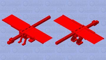 Red Dragon from AheeCraft Minecraft Mob Skin