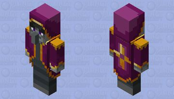 The Mage Illager Minecraft Mob Skin