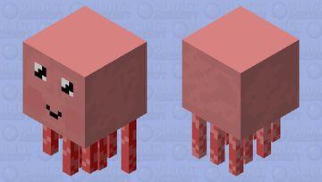 Kawaii Ghast Minecraft Mob Skin