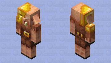 Rich Piglin Minecraft Mob Skin