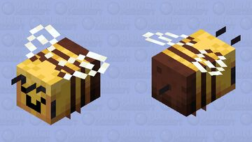 Happy bee Minecraft Mob Skin