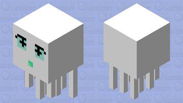 Cute gast Minecraft Mob Skin