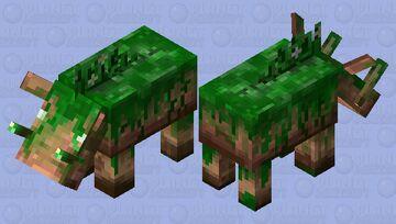 Jungle Zoglin Minecraft Mob Skin