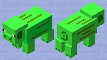 Angry Birds Piggy Skin Minecraft Mob Skin
