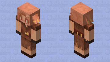 Human Piglin Minecraft Mob Skin