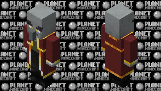Evoker re-texturing / level 2 Minecraft Skin