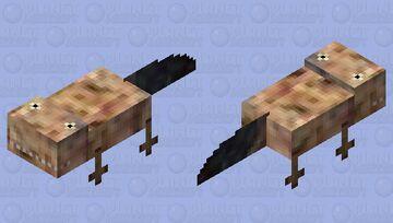 Acanthostega Minecraft Mob Skin