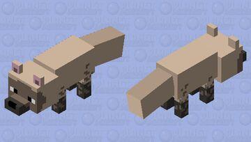 Vulpes qiuzhudingi Minecraft Mob Skin