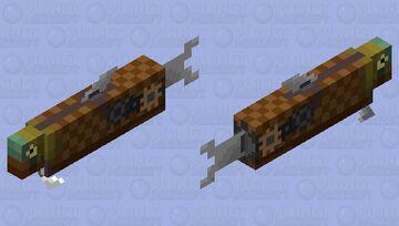 Futuristic Salmon - Mystery Mob Skin Contest :0 (Pop Reel!) Minecraft Mob Skin