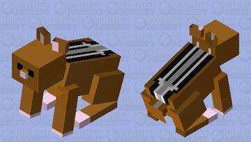 Chipmunk#So cute Minecraft Mob Skin