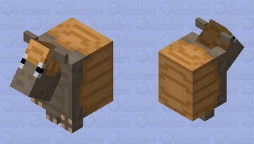 Handsome Armadillo Minecraft Mob Skin
