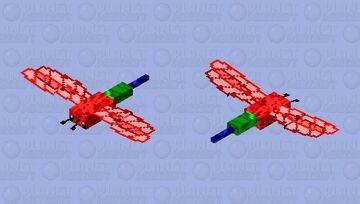 RGB dragonfly Minecraft Mob Skin