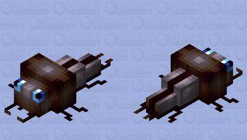 Soul sand beetle Minecraft Mob Skin