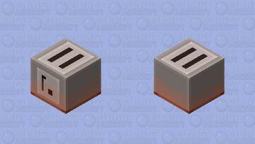 Lava-Proof Toaster 2 Minecraft Mob Skin