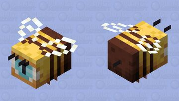 one eyed bee Minecraft Mob Skin