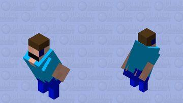 flying Steve Minecraft Mob Skin