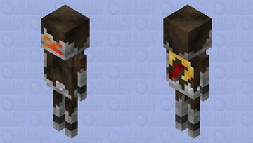 Nether Stray Minecraft Mob Skin