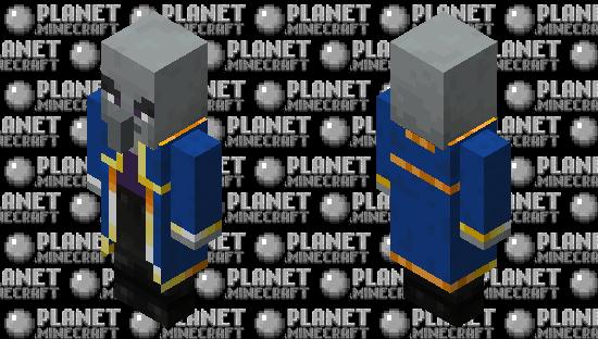 Evoker re-texturing / level 1 Minecraft Skin